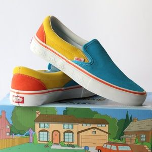 The Simpsons x Vans Slip-On Pro 'Bart'